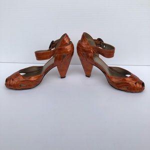 Burnt Orange Heels